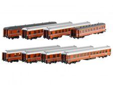 ModelsWorld MW1602 SNCB NMBS Set 8x EurofimaWagen Oostende-Köln E321 Ep4 NEU+OVP