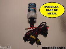 Bombilla base de METAL H7 HID para kit xenon 35w 6000kº 6000