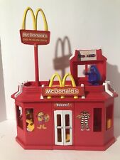 McDonalds Play Place 2003 Fold-out with Drive Thru Window