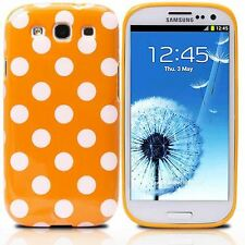 Samsung Galaxy S3 Polka Dot Case / Cover  - Orange