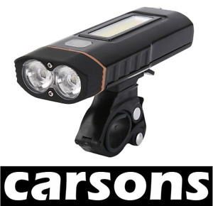 CARSONS multifunctional rechargeable two led bike work light lamp set kit front