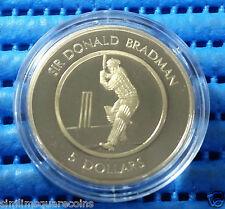 1996 Australia $5 Sir Donald Bradman Commemorative Proof Coin