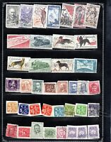 CZECHOSLOVAKIA AST OF 39  ITEMS ALL GENUINE & DIFFERENT VERY NICE LOT #2019CZ06