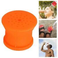 Portable Outdoor Silicone Shower Head Camping Bathing Tools Sprinkler N3U2