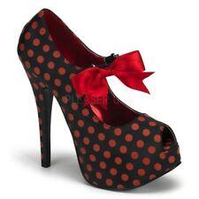 Satin Polka Dot Shoes for Women