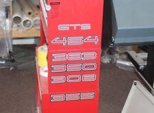 454 Big Block   Gts Monaro Style Laminated Stickers Holden Hk Ht Hg Hq