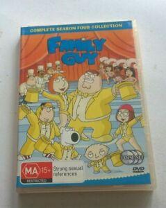 Family guy complete season 4  dvd clean disk Australian release
