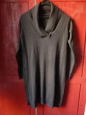 COMPTOIR DES COTONNIERS : Robe pull en laine (75%) et soie (25%), taille XL