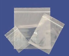 "50 Large 10"" x 14"" Clear Grip Seal Gripseal Plastic Resealable Ziplock Bags NEW"