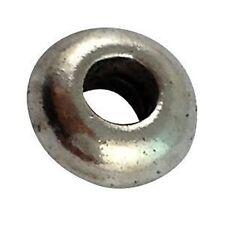 100Pcs Tibetan silver flat Round spacer beads T12533