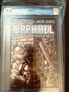RAPHAEL #1 CGC 7.0, Mirage Studios, 1985, Teenage Mutant Ninja Turtles 1st Print
