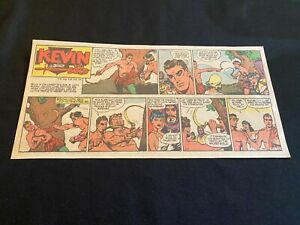 #02A KEVIN THE BOLD by Kreigh Collins Lot of 7 Sunday Comic Strips 1961