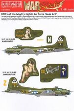 Kits-World 1/48 B-17F Flying Fortress Mighty Eighth Air Force 'Nose Art' 48010