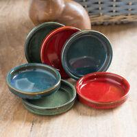 Set of 6 10cm Glazed Tapas Olive Bowls Dishes Cazuelas Spanish Serving Dishes