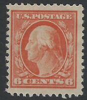 US Stamps - Scott # 506 - p 11, no wmk. - Mint OG Hinged                 (H-262)