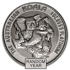 Australia 1 oz Platinum Koala BU (Random Year) - SKU #54969