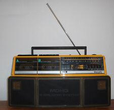Poste Radio GhettoBlaster Philips D8304  Boom Box  Vintage An 80's