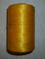 1/2 Pound Roll Artificial Sinew -Yellow - Mountain Man