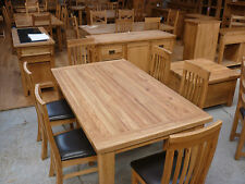 VANCOUVER FURNITURE RECLAIMED OAK 1800CMX105CM TABLE VXD009