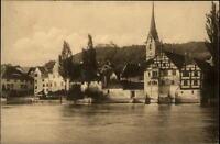 Stein am Rhein Schweiz Echtfoto-AK ~1920/30 Kloster St. Georgen mit Hohenklingen