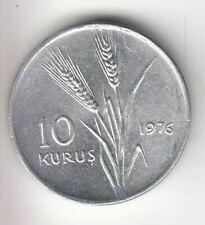 TURKEY 10 KURUS 1976 WHEAT          246E       BY COINMOUNTAIN