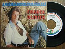 FRANCK OLIVIER 45 TOURS BELGIQUE LA RENCONTRE BARZOTTI