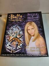 More details for buffy the vampire slayer puzzle a month jigsaw calendar set complete!
