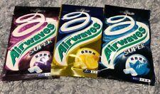 Any 3x Wrigley's AIRWAVES SUPER RASPBERRY Honey Lemon 60x Pellet 84g Chewing Gum