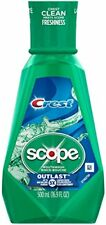 Crest Plus Scope Outlast Mouthwash Mint 16.9oz Each