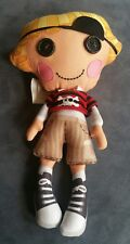 "Lalaloopsy 10"" Boy Pirate Patch Treasure chest Soft Stuffed Plush Doll Sew Cute"