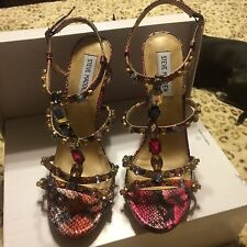 Nwob Steve Madden High Heels With Gems. Size 9 1/2
