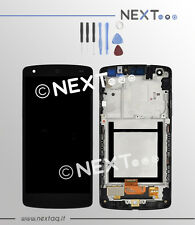 Schermo Display Touch screen LG GOOGLE Nexus 5 D820 D821 cornice kit riparazione