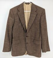 Vtg Pagano West Men's Blazer Sport Coat Tweed Western Rockabilly Cowboy 38 USA