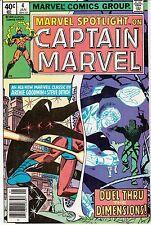 Marvel Spotlight #4 (Jan 1980, Marvel) Vol 2; Captain Marvel