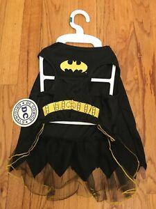 DC Comics Batgirl Dog Costume w/Cape LG Dogs-NEW-100% to No Kill Pet Shelter