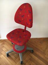Moll Kinderdrehstuhl Maximo Gestell Rot Sitzbezug Forte Hohenverstellbar