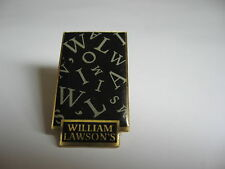 PINS  WHISKY *WILLIAM LAWSON'S*
