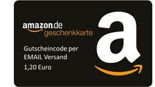 1,20 € Amazon Gutschein Gutscheincode Code Voucher Einkaufsgutschein Key