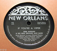 Herb Morand - If You're A Viper / Down In Honky Tonk Town NEW ORLEANS (141)
