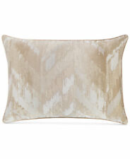 Hotel Collection Distressed Chevron King Pillow Sham Gold $135 i1571