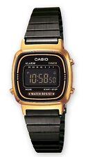 Casio Watch * LA670WEGB-1B Retro Mini Gold & Black Steel COD PayPal