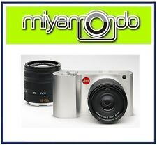 Leica T Typ 701 (Silver) Body + 18-56mm + 23mm Twin Lens Kit