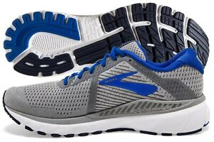 Brooks Adrenaline GTS 20 Men's Grey/Blue/Navy multiple sizes New In Box