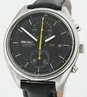 Vintage SEIKO 6138 3003 Jumbo Chronograph Automatic 1977 Mens Wrist Watch