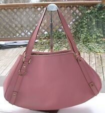 Auth GUCCI Abbey Limited Edition Medium Pink Leather Tote Shoulder Bag - EUC!