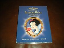 DVD DISNEY BLANCHE NEIGE ET LES SEPT NAINS - EDITION COLLECTOR 2 DVD