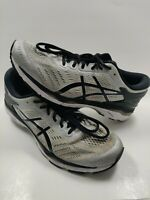 Men's Size 11 ASICS Gel Kayano 24 Athletic Running Shoes Silver Black T749N