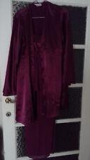 Pyjama 3 pieces satin/voile M