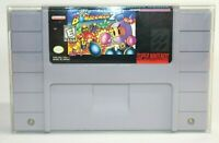 Super Bomberman 2 SNES Super Nintendo Authentic, Cleaned & Tested! Works Great!