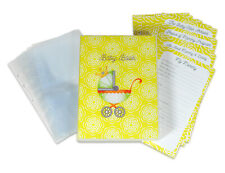 Baby Memory Records Keeper, 30 Themed Pages, 10 Photo Pages, A5 Mini Case Binder